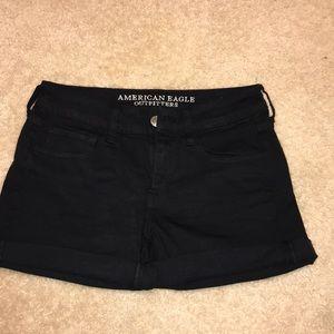 Black AE shorts NWOT